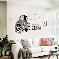 family wallpaper promotion shop for promotional family wallpaper 3d wall stickers for living room children bedroom diy animal zebra removable wall decals family wallpaper art home decor 2017