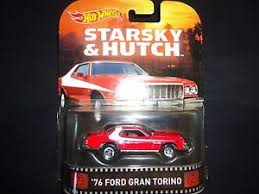 Ford Gran Torino Starsky And Hutch Wheels Ford Gran Torino 1976 Starsky And Hutch Bdt77 996k 1 64