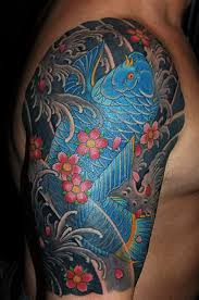 colorful japanese traditional tattoos for men photo 2 real