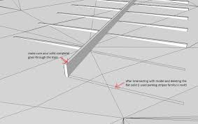 revitcity com putting parking stripes on a slope 140848 sketchup topo stripes jpg