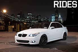 custom white bmw 2008 bmw 550i rides magazine