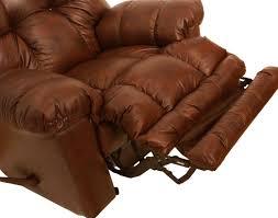 Catnapper Leather Reclining Sofa Catnapper Cloud Ten Leather Rocker Recliner