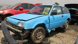 car junkyard ottawa junkyard find 1986 honda civic 1300 hatchback