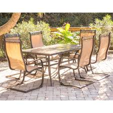 Telescope Casual Patio Furniture by Woodard Cortland Cushion Aluminum Spring Lounge Chair For Alluring