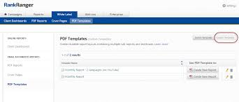 seo u0026 marketing report pdf system templates rank ranger