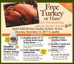 customers earn free thanksgiving turkeys at shoprite