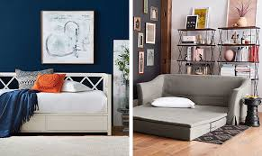 how to choose a sofa bed how to choose between a daybed or sleeper sofa pottery barn