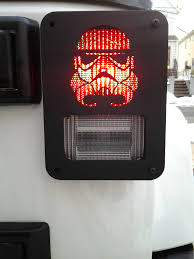 custom jeep tail light covers trooper custom jeep wrangler tail light guards by dnajeep jeep