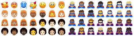 unicode 9 emoji updates 157 new emojis are coming in 2018 including redheads and superheroes