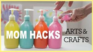 mom hacks arts u0026 crafts ep 2 youtube
