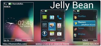 Nokia C2 01 Themes With Tones | jelly bean ux theme for nokia x3 c2 01 x2 01 240 320 updated