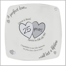 25th anniversary gifts for parents get the silver wedding anniversary gift ideas for your parent
