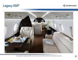 Legacy 650 Interior Executive Aviation