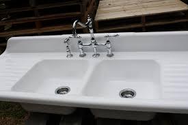 white double kitchen sink minimalist cast iron kitchen sinks white sink for salevbags