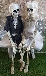 halloween skeleton bride u0026 groom wall door hanging decorations