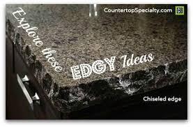 countertop edge countertop edges for granite silestone and corian