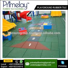heavy duty playground rubber tiles outdoor flooring kid rubber