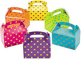 polka dot boxes 12 bright polka dot treat boxes health personal care