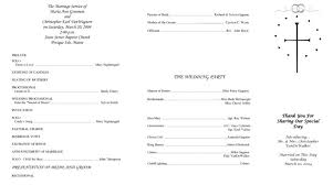 Diy Wedding Ceremony Programs Sample Church Program 27 Policy And Procedure Manual Church