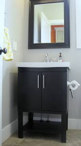 Rsi Kitchen Cabinets Rsi Kitchen And Bath Bathroom Transitional With Dark Wood Cabinet