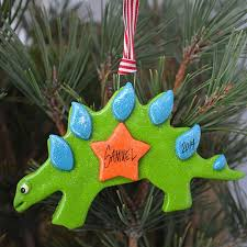 stegosaurus dinosaur ornament tis the season ornaments