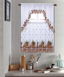 Rooster Swag Curtains by Fruit Basket Kitchen Curtain Set Kitchen Curtain Sets Kitchen
