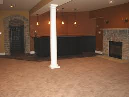 modern concept finish basement ideas with basement remodeling