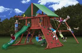 gorilla playsets sun valley i kids outdoor wooden playset