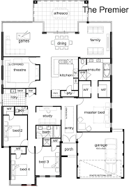 floor plan of modern single home indian house plans loversiq