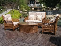 Woven Patio Chair Rattan Patio Furniture Home Design