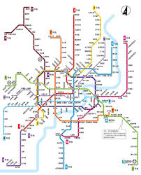 Shanghai Subway Map by The Qube Pudong Online Reservation