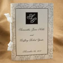 where to get wedding programs printed wedding program rsd 1