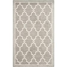 Outdoor Throw Rugs by Rectangle Striped 5 X 8 Outdoor Rugs Rugs The Home Depot