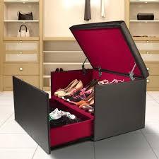coffre siege rangement coffre rangement banquette luxe noir spécial chaussures achat