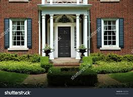 Front Door Red by Front Doors Coloring Pages Front Door Red Brick House 107 Red