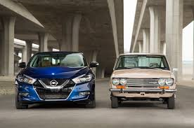 nissan kicks vs juke then vs now 1972 datsun 510 vs 2016 nissan maxima sr