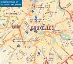 map brussels of brussels belgium