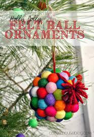 felt ball crafts week