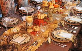 how to set the thanksgiving dinner table falconcrest