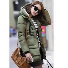 Womens Winter Coats Plus Size Aliexpress Com Buy 1pc Winter Jacket Women Military Coats Plus
