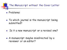 cover letter manuscript cover letter how to submit the manuscript pin 凌 斌