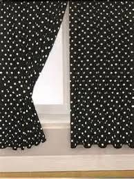 Black Polka Dot Curtains Black And White Polka Dot Print 84 Inch Curtain Panels For Dot