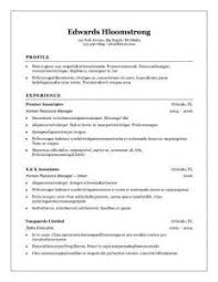 Resume Example Simple by Prissy Inspiration Simple Resume Examples 16 30 Basic Templates