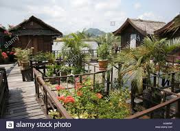 Chalet Style by A Riverside Chalet Built In The Style Of Traditional Malay Stock