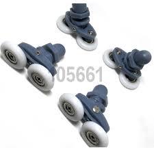 shower door roller 20mm 22mm 23mm 25mm 27mm wheel curved spares