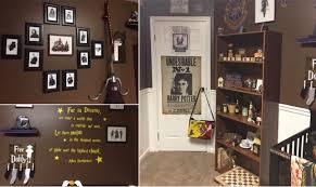 harry potter et la chambre une chambre d enfant entièrement décorée sur le thème d harry