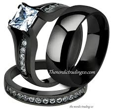 Black Wedding Rings by Get 20 Cz Wedding Bands Ideas On Pinterest Without Signing Up