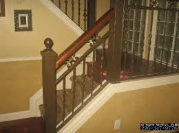 Metal Banister Spindles Railings Sunset Metal Fab Inc