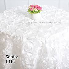 cheap lace overlays tables the aliexpress buy round rosette table overlay with 3d regarding