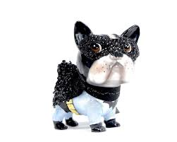 christmas glass ornament batman glitter pug dog renio u0026clark